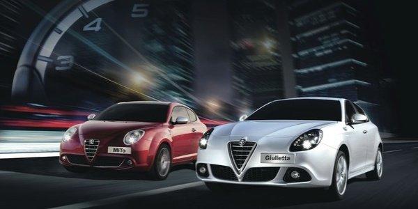 Alfa Romeo MiTo et Giulietta Trofeo