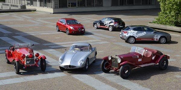 Alfa Romeo s'invite aux Mille Miglia