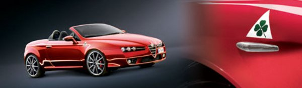 Alfa Spider Mille Miglia : exclusive !