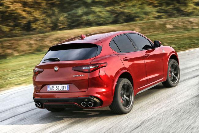 Alfa Romeo Stelvio Quadrifoglio : ouverture des commandes
