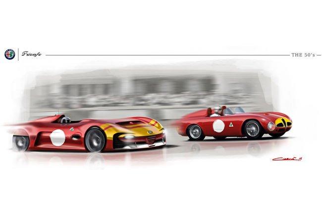 Concept Alfa Romeo Trionfo par Sebastiano Ciarcia