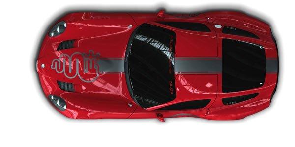 Alfa Romeo TZ3 Stradale, hello Dodge