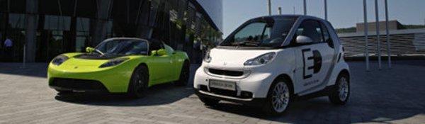 Daimler prend Tesla Motors sous son aile