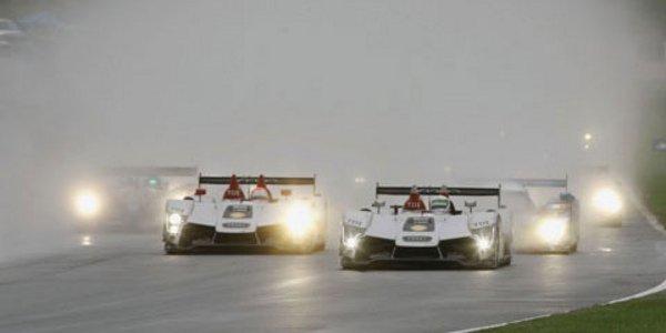 ALMS :  doublé Peugeot sous le déluge