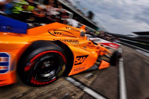 Fernando Alonso 5ème chrono à Indy 500