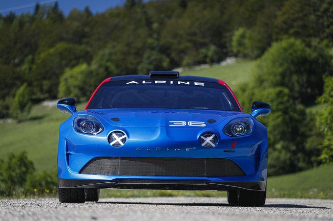 L'Alpine A110 prête pour le Rallye