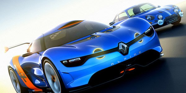 L'Alpine A110-50 Concept enfin officiel