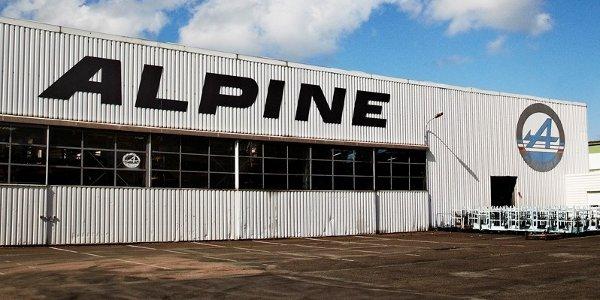 Alpine de retour à Dieppe avec Caterham !