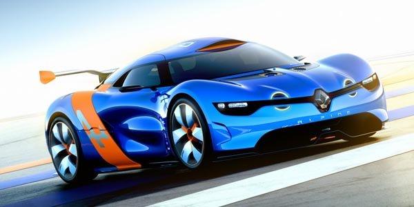 L'Alpine A110-50 s'expose au Mans