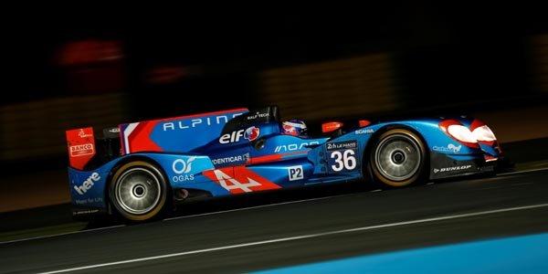 Le Mans : Alpine sur le podium LMP2