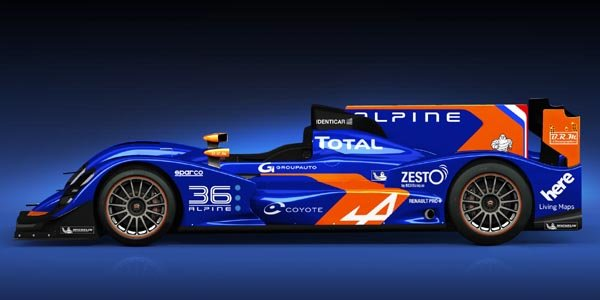 Alpine dévoile son proto LMP2 à Paris