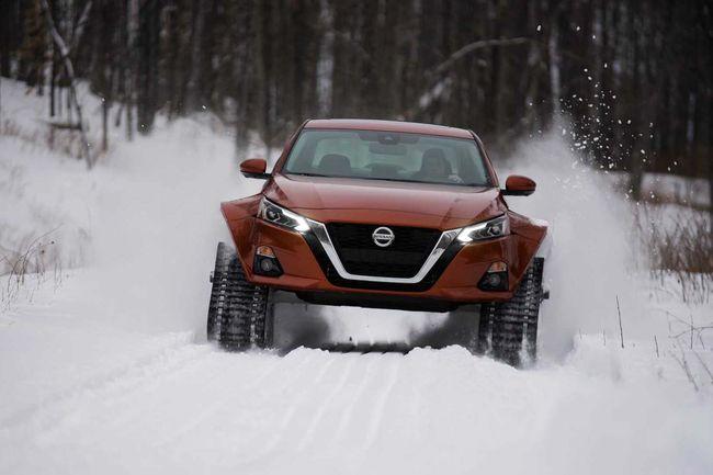 Nissan ressort les chenilles avec l'Altima-te AWD