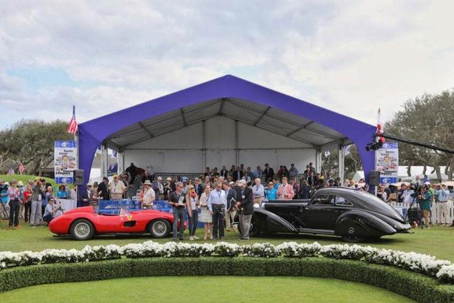 Mercedes et Ferrari primés à Amelia Island