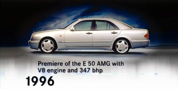 AMG : 44 ans d'histoire en images