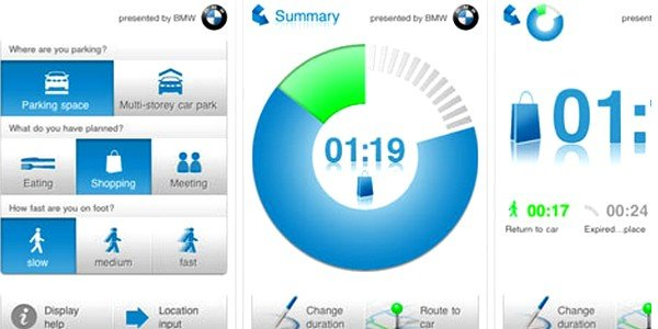 Application iPhone - BMW
