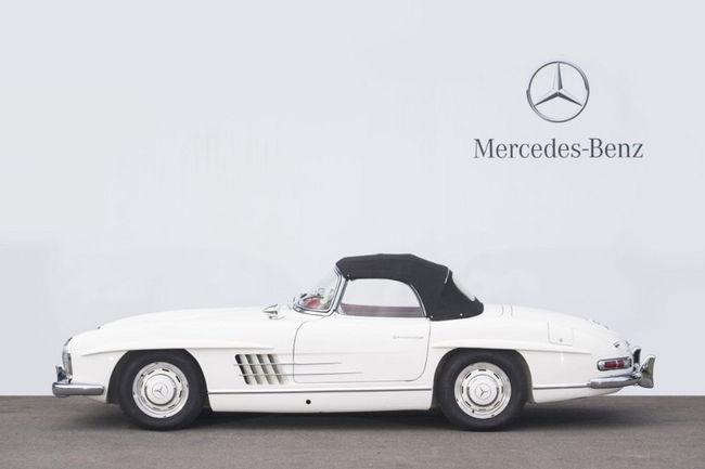 Artcurial Motorcars : succès de la vente Mercedes-Benz