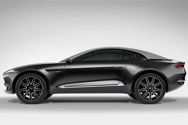 Pas de version purement électrique pour le SUV d'Aston Martin