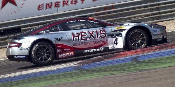 Aston Martin aux 24 Heures de Spa 2011