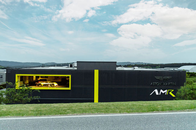 Aston Martin inaugure son AMR Performance Centre