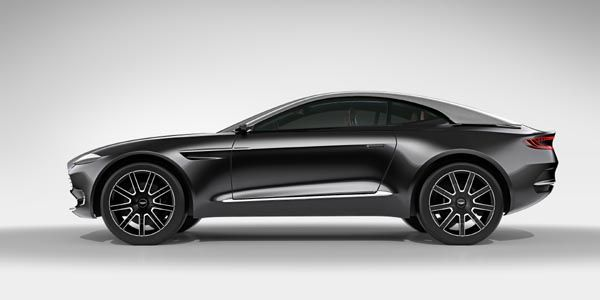 Aston Martin présente son concept DBX