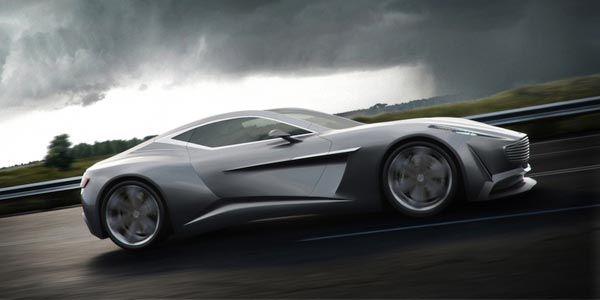 Aston Martin concept par Grigory Gorin