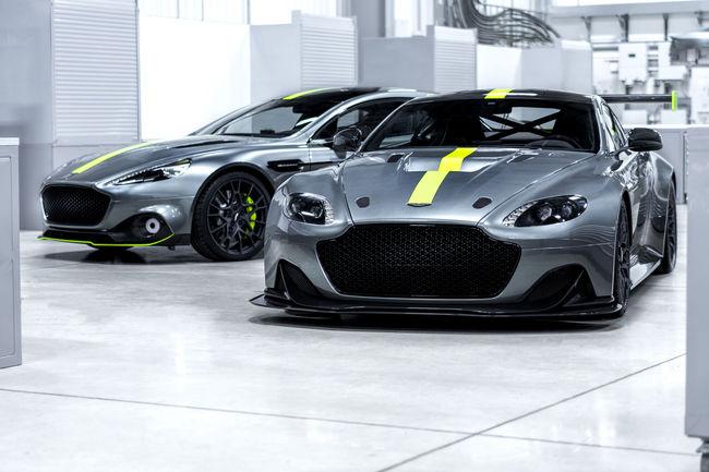 Aston Martin crée la marque AMR