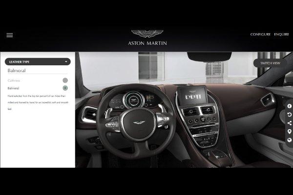 Configurez dès maintenant votre Aston Martin DB11