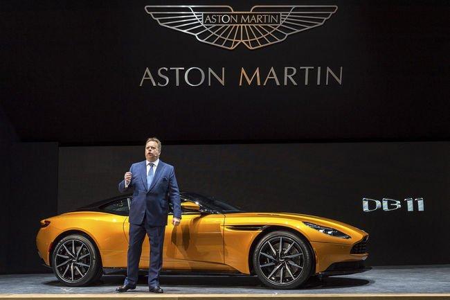 Andy Palmer va surveiller de près la sortie de l'Aston Martin DB11