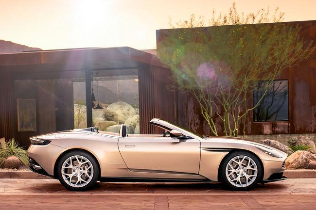 Nouvelle Aston Martin DB11 Volante