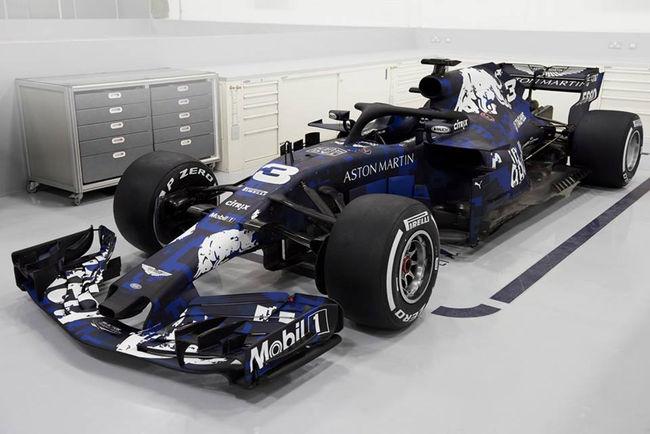 Livrée F1 pour l'Aston Martin DB11