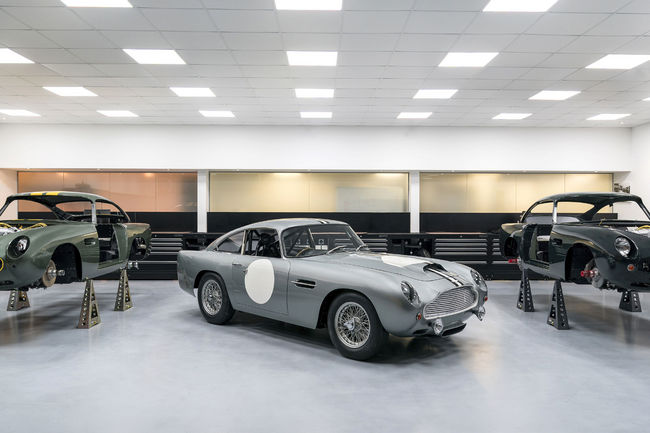 Aston Martin : production relancée à Newport Pagnell