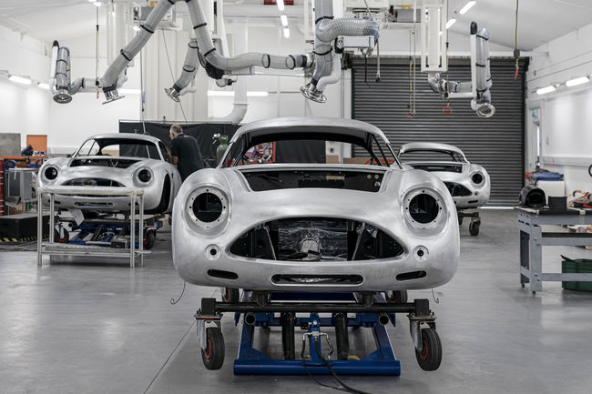 Aston Martin DB4 GT Zagato Continuation : production lancée