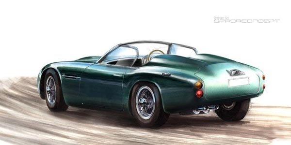 Une Aston Martin DB4 GT Zagato Volante ?