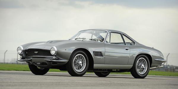 Une Aston DB4 GT vendue 3,8 millions