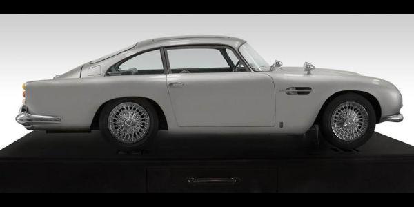 Idée cadeau : Aston Martin DB5 Goldfinger à l'échelle 1:3