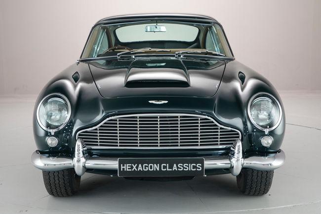 L'Aston Martin DB5 de Sadruddin Aga Khan est à vendre