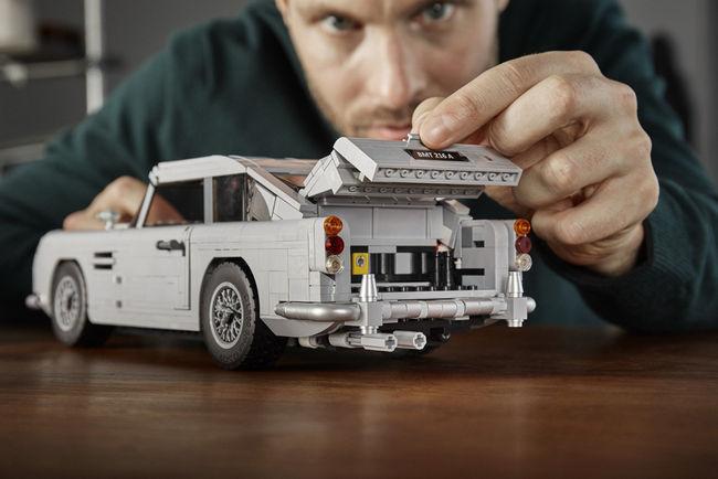 LEGO : l'Aston Martin DB5 de 007 bientôt disponible