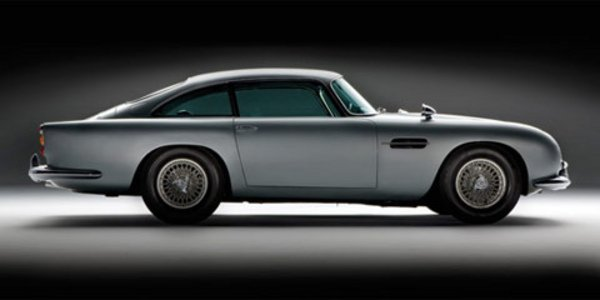L'Aston DB5 de James Bond en vente
