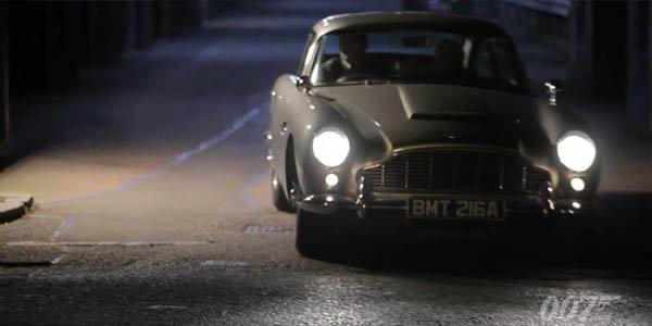 James Bond revient avec la DB5