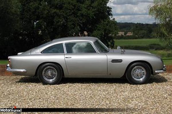 une aston db5 de james bond vendre actualit automobile motorlegend. Black Bedroom Furniture Sets. Home Design Ideas
