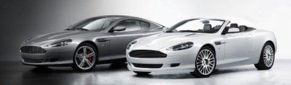 Petite mise à jour pour l'Aston DB9