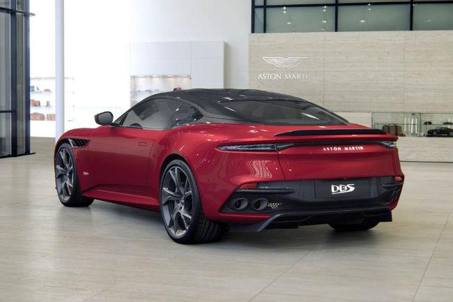 Configurez votre Aston Martin DBS Superleggera
