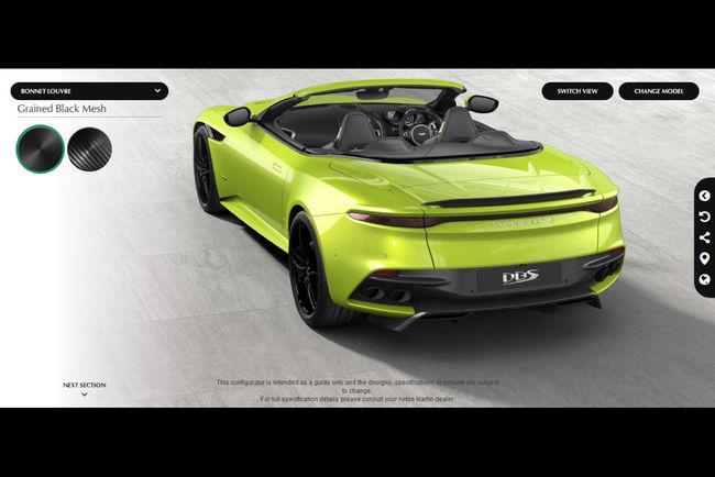 Configurez votre Aston Martin DBS Superleggera Volante