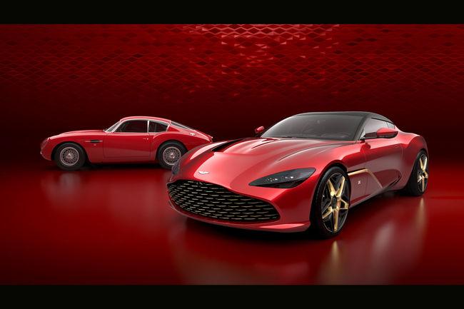 Aston Martin en dévoile davantage sur la DBS GT Zagato