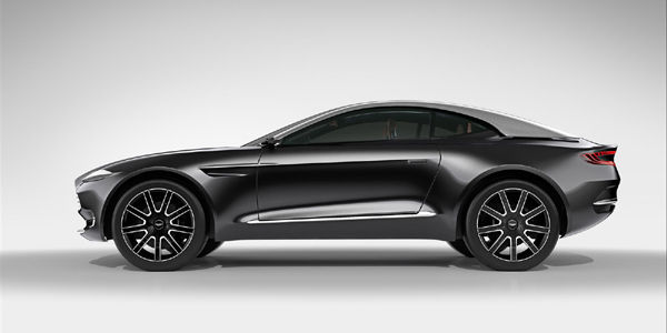 Aston Martin : le concept DBX bientôt en production