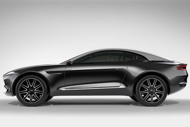 Aston Martin DBX : un V8 et un V12 au programme