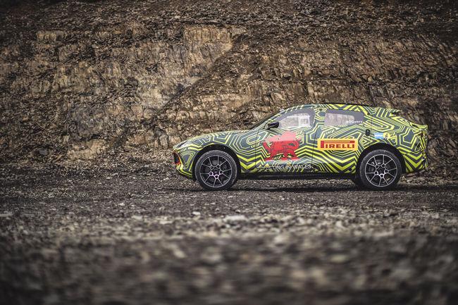 L'Aston Martin DBX en test réel