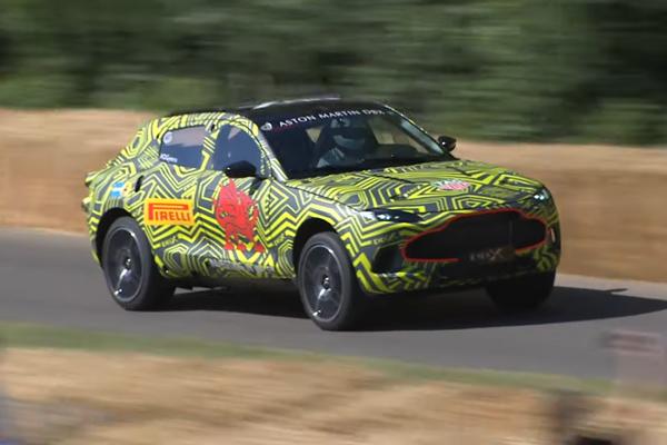 Aston Martin DBX : présentation attendue en décembre