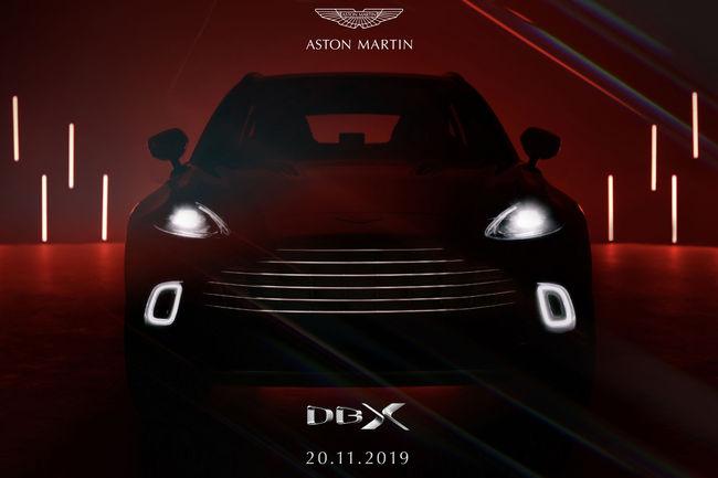Tarif et intérieur de l'Aston Martin DBX