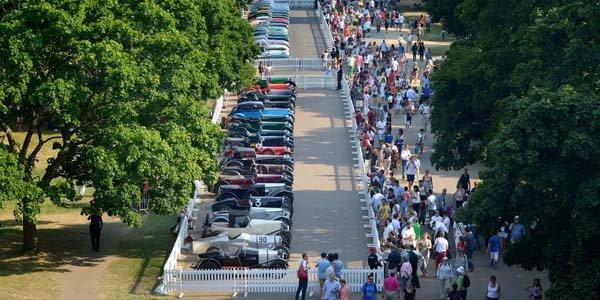 Célébrations du centenaire Aston Martin